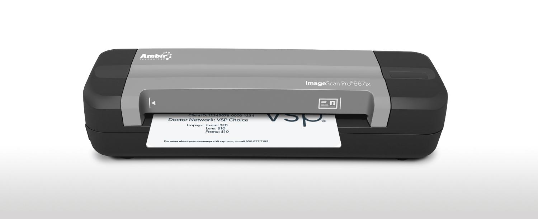 Ambir ImageScan Pro 667ix Simplex Card Scanner