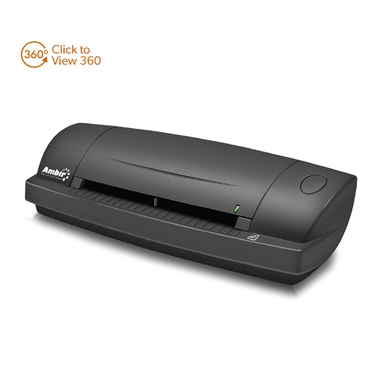 Duplex A6 ID Card Scanner with AmbirScan (DS687-AS) - Ambir