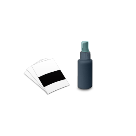 cleaning & calibration kit for card scanner