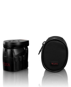 Tumi Electric Grounded Adapter With USB