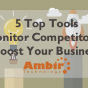 tools to monitor competition