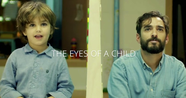 eyes of child marketing campaign