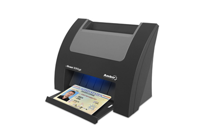 Ambir DP687 Docket Port Business Card Scanner